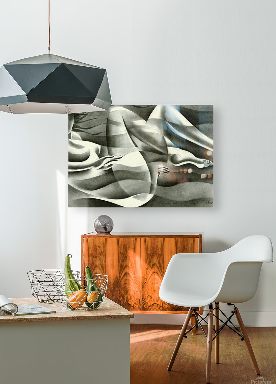 Roundism - 19-07-16  HD Metal print with Floating Frame on Back
