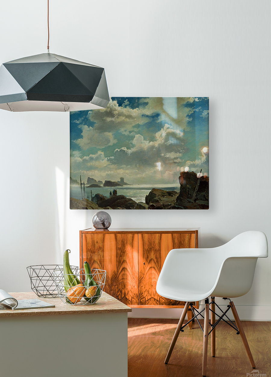 Island of Jersey, England  HD Metal print with Floating Frame on Back
