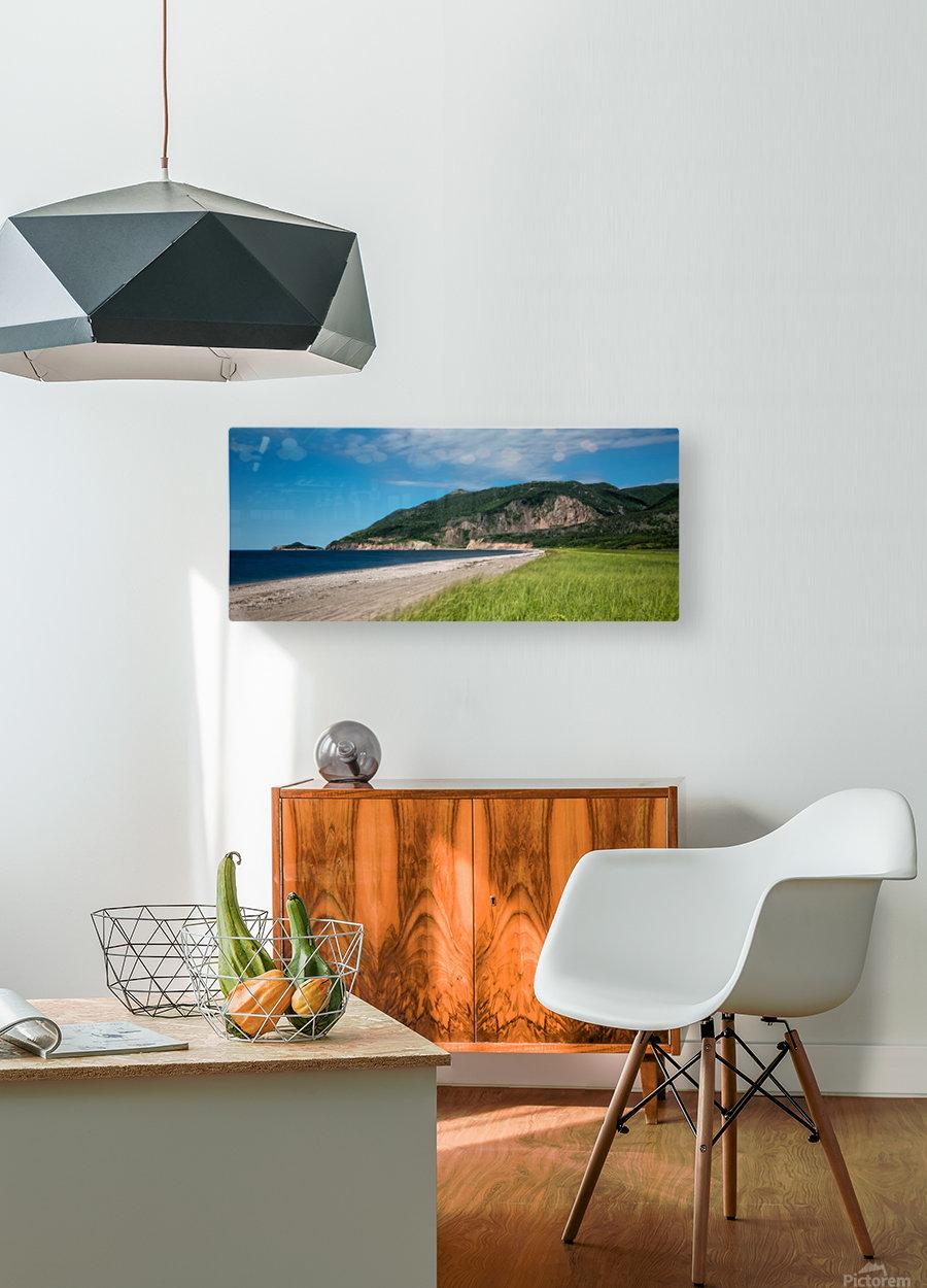Petit Etang Beach Memories  HD Metal print with Floating Frame on Back