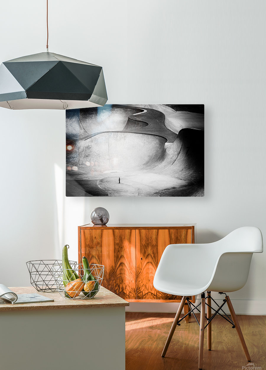 Beyond Reality  HD Metal print with Floating Frame on Back