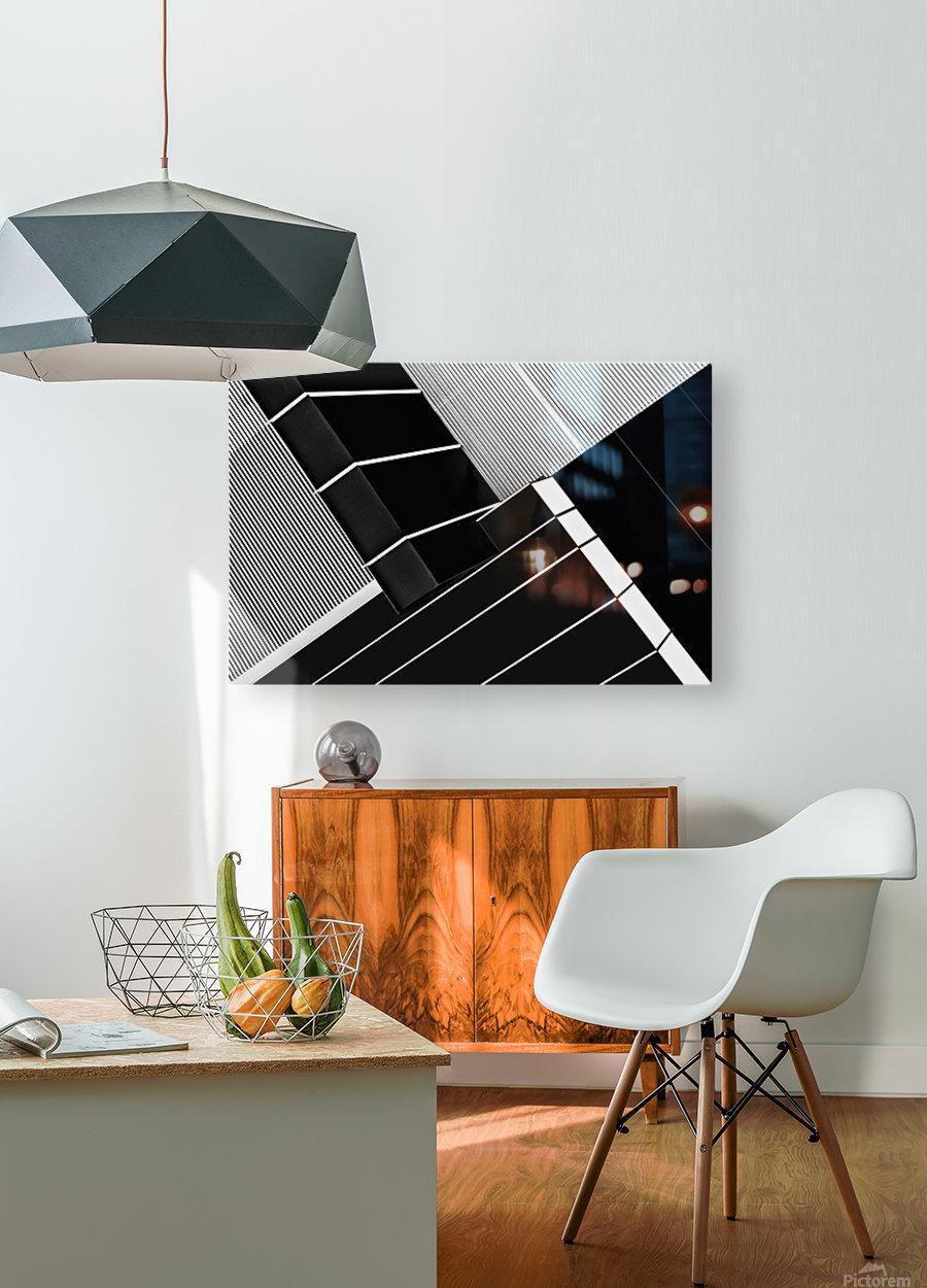 Fragile Symmetry  HD Metal print with Floating Frame on Back