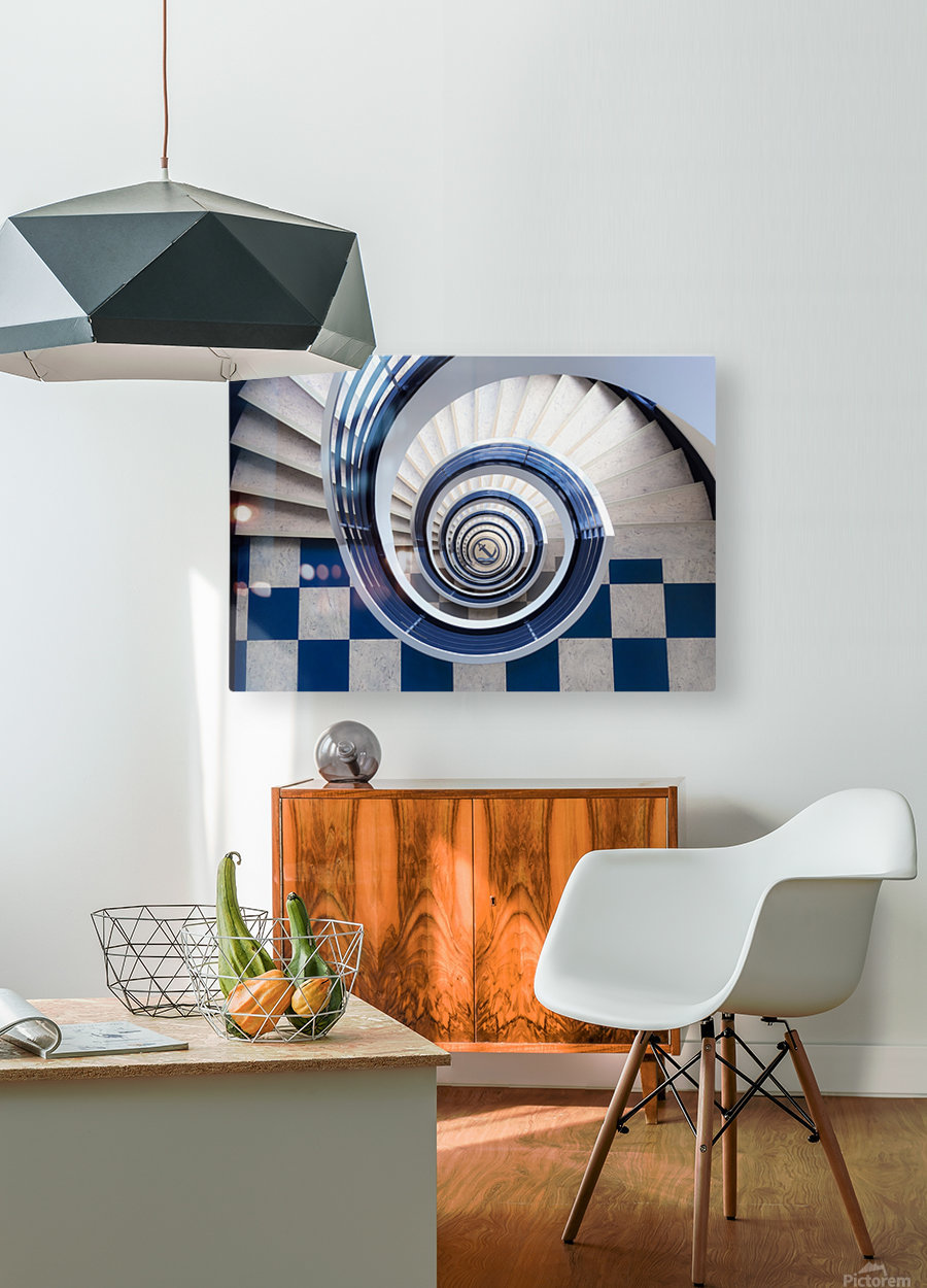 Anchor  HD Metal print with Floating Frame on Back
