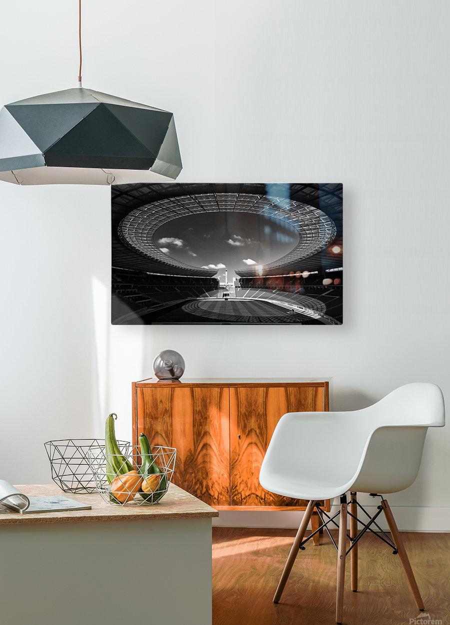 Omega  HD Metal print with Floating Frame on Back