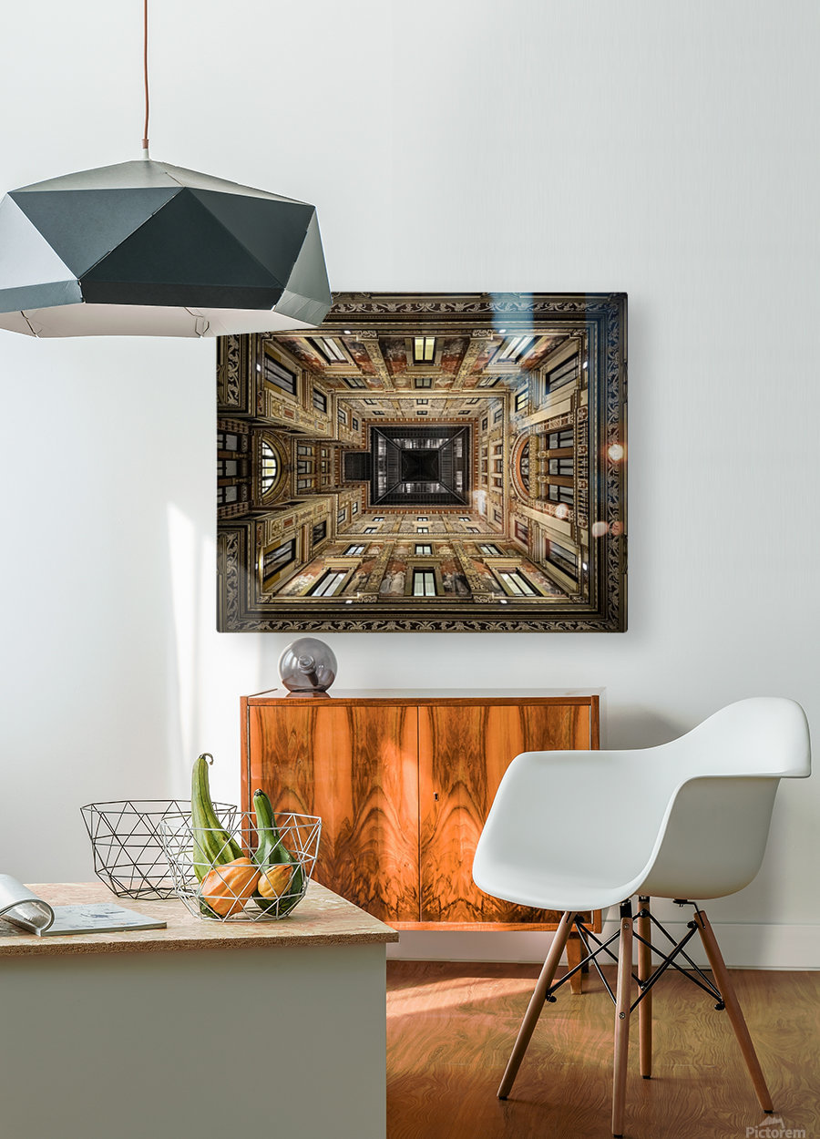 Galleria Sciarra  HD Metal print with Floating Frame on Back