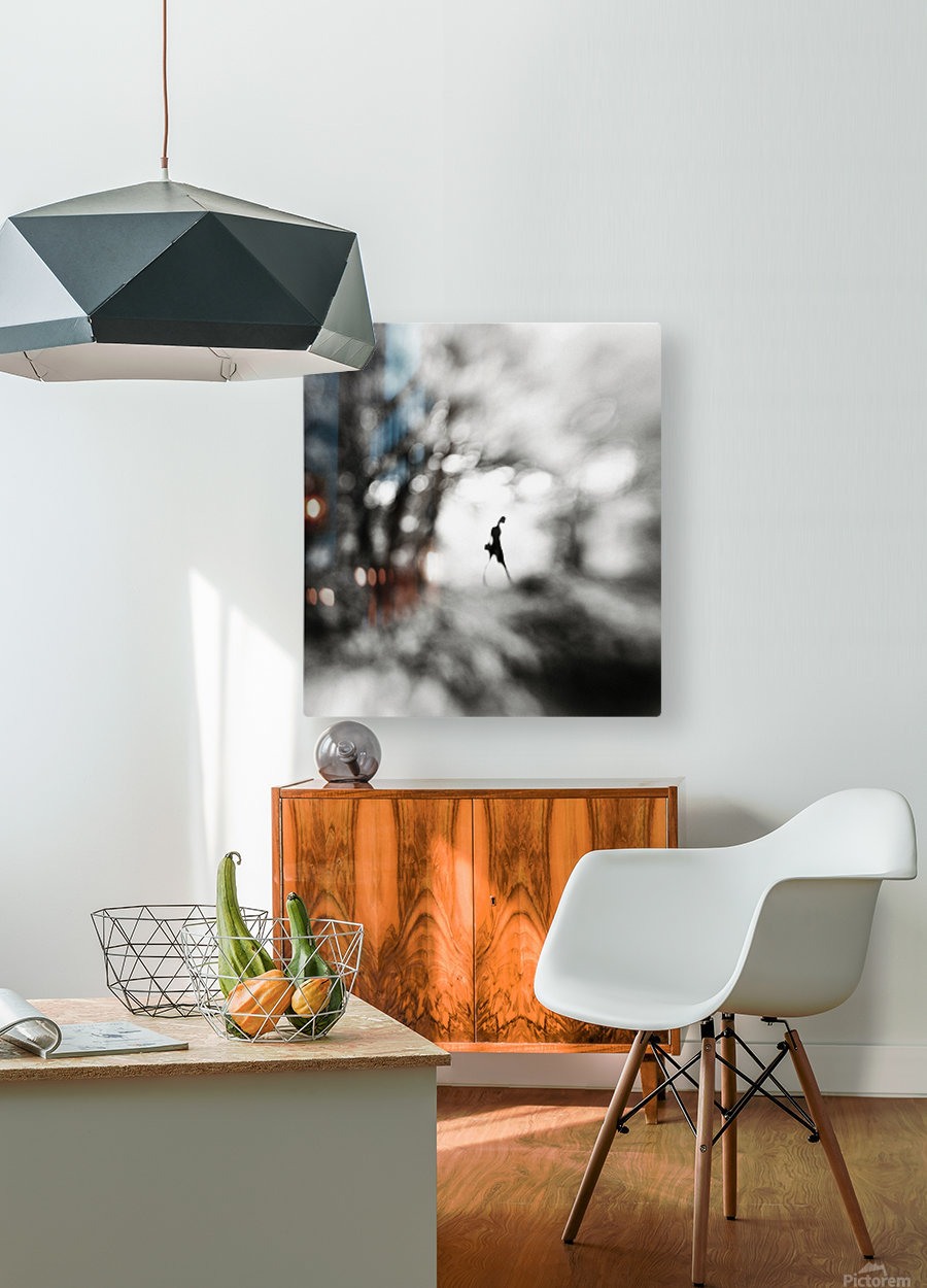 Equinox  HD Metal print with Floating Frame on Back
