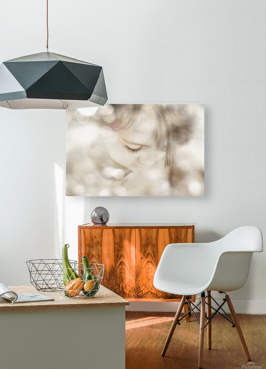 Hi Lite  HD Metal print with Floating Frame on Back