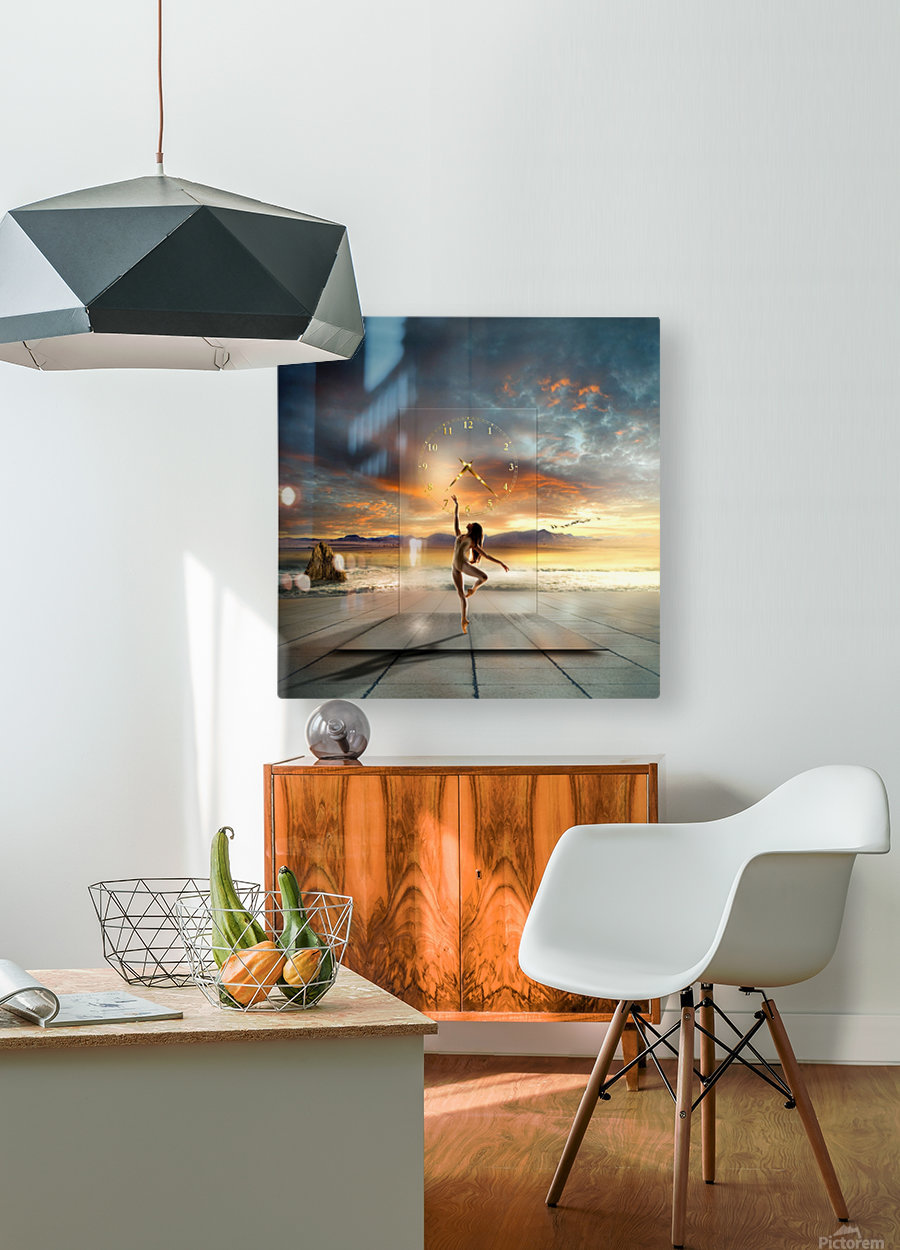 in my dreams ...  HD Metal print with Floating Frame on Back