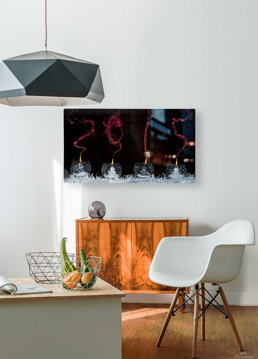 2015  HD Metal print with Floating Frame on Back