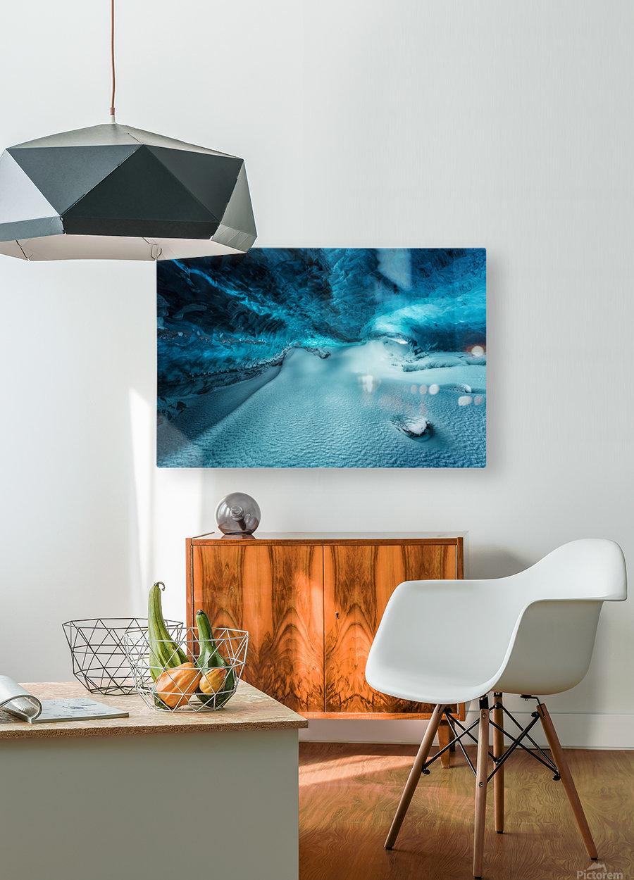 Hidden Frozen World  HD Metal print with Floating Frame on Back