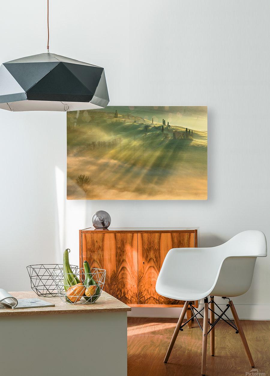 Mist...  HD Metal print with Floating Frame on Back