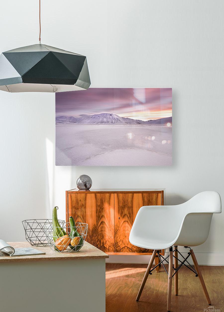 Sibillini National Park - Sunrise  HD Metal print with Floating Frame on Back