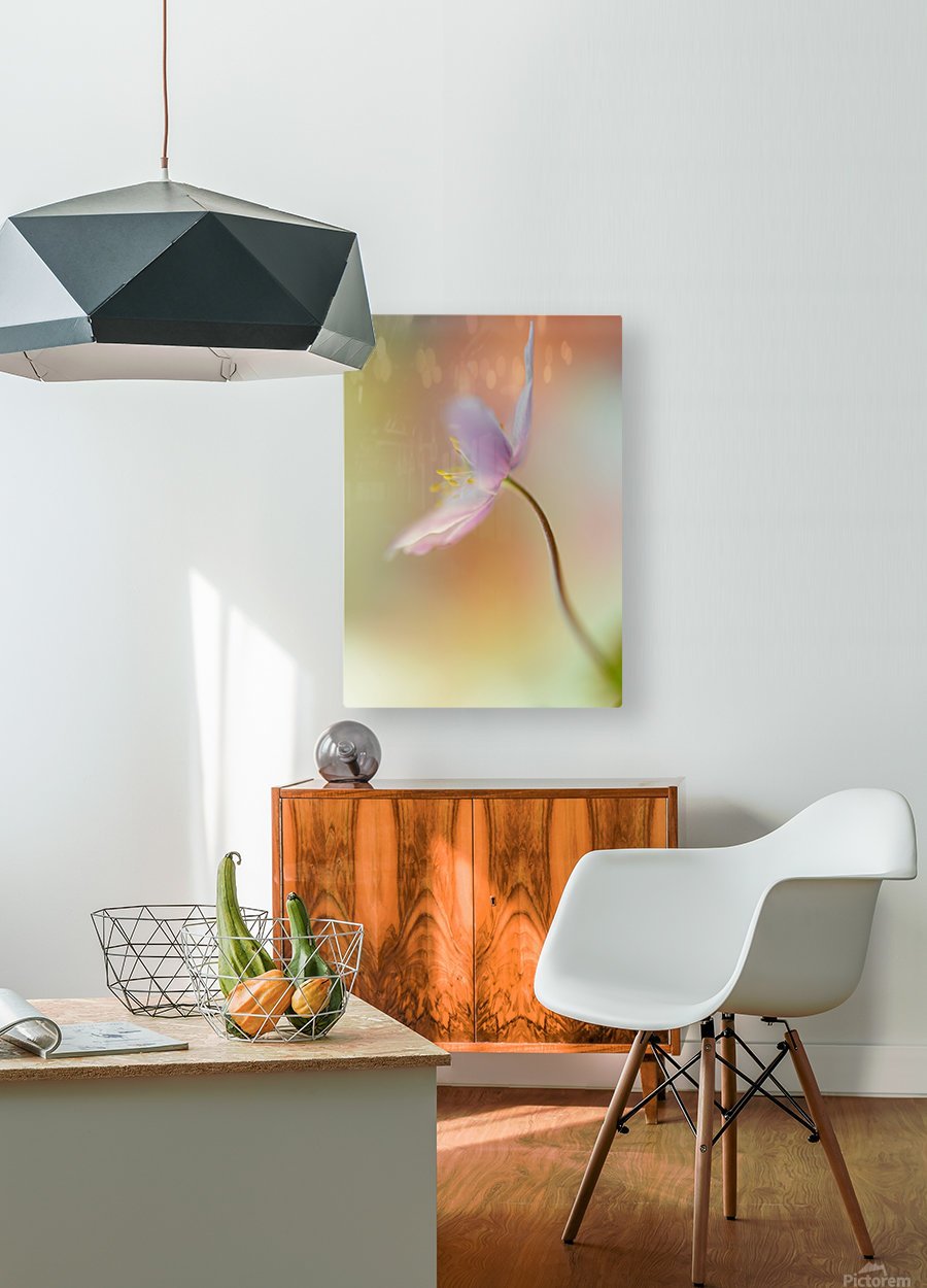 Tender spring  HD Metal print with Floating Frame on Back