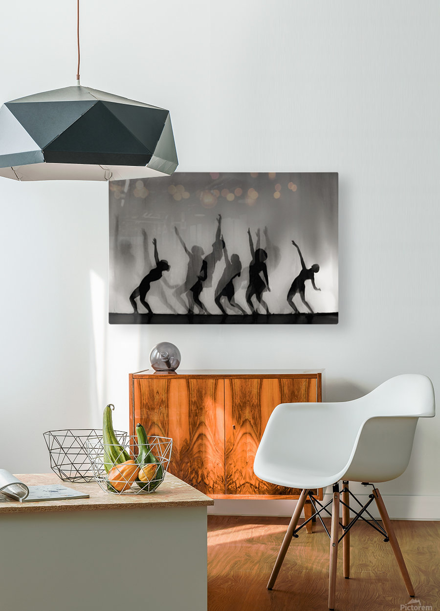 Dance is the language of the soul ...  HD Metal print with Floating Frame on Back