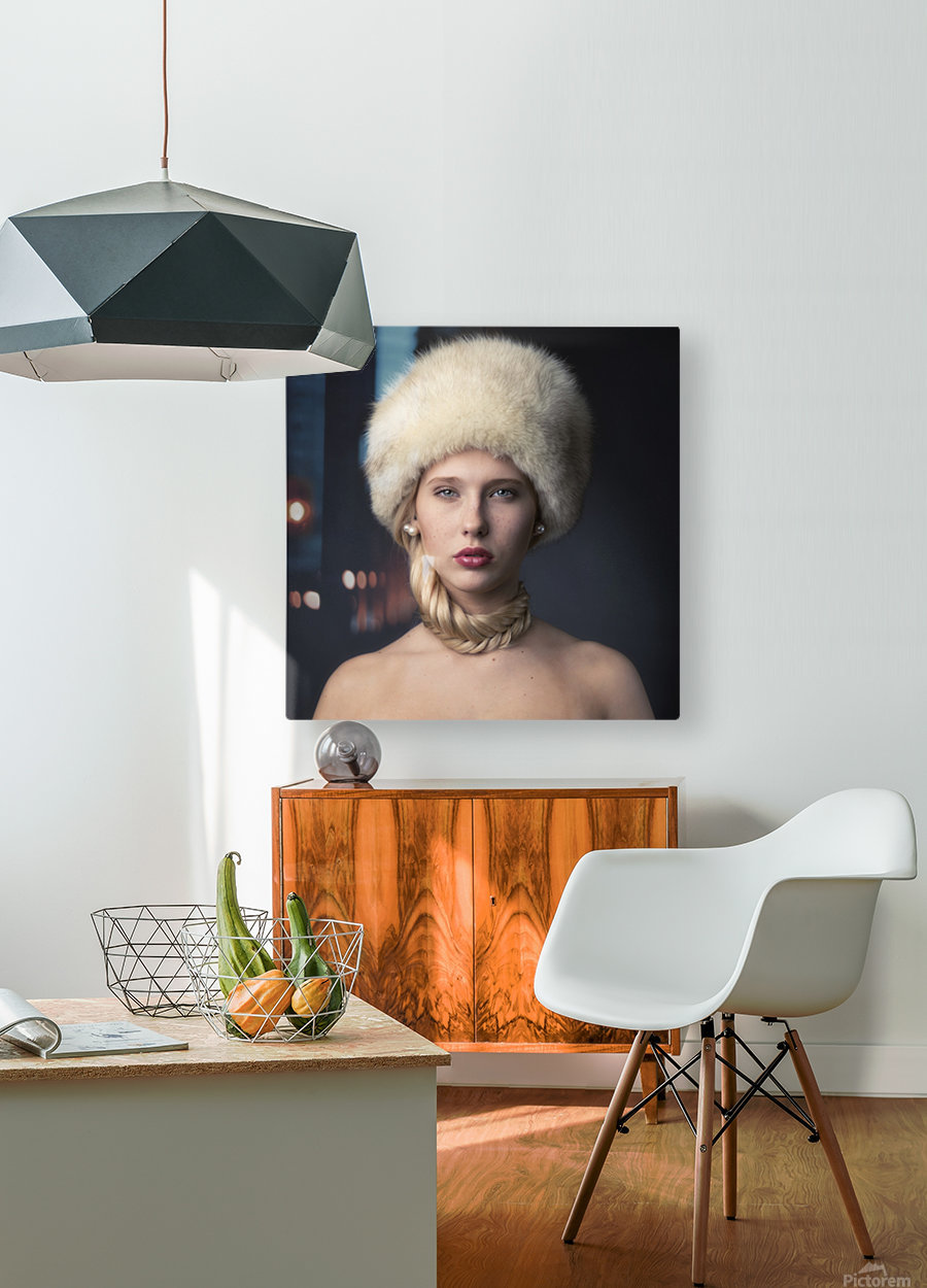 From Russia with love  HD Metal print with Floating Frame on Back