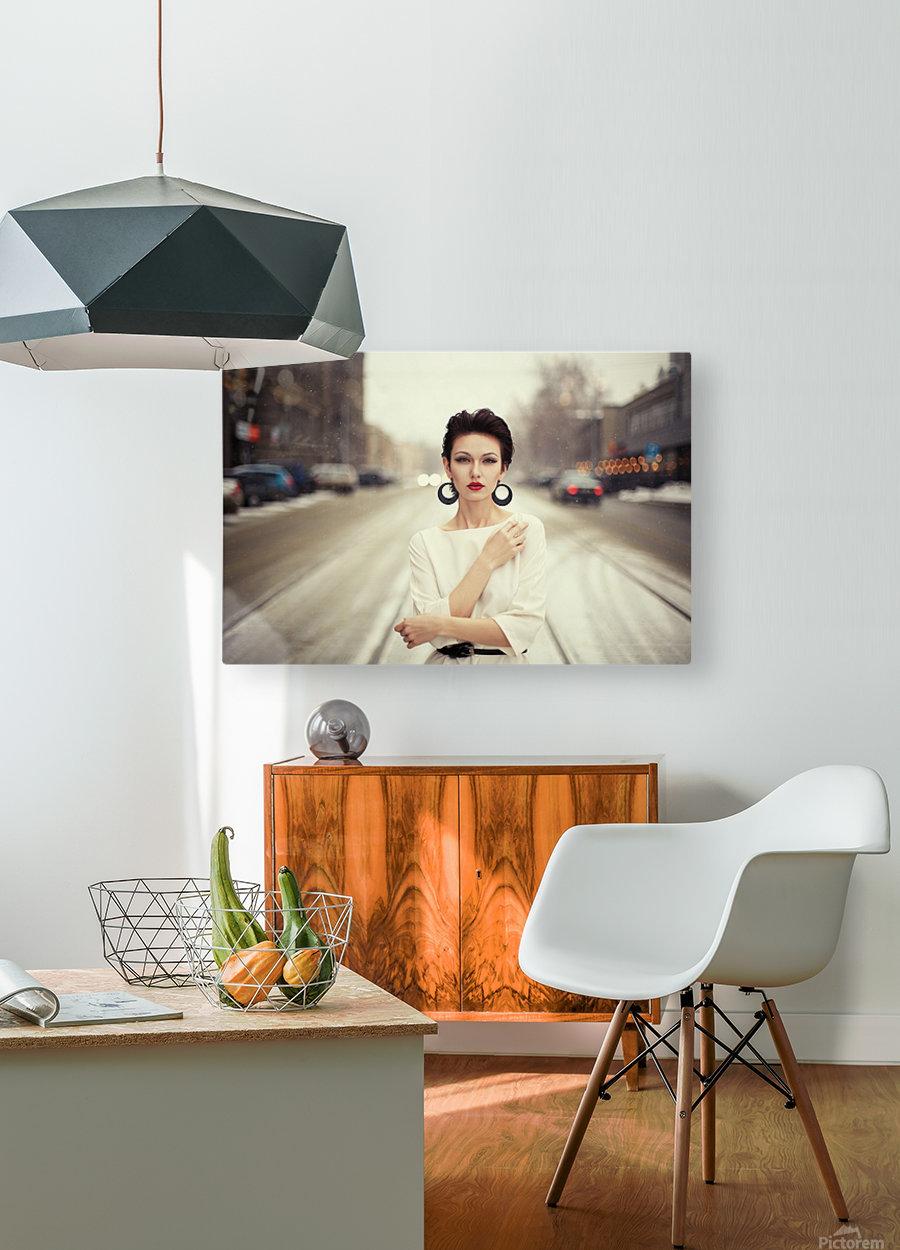 Nastya  HD Metal print with Floating Frame on Back
