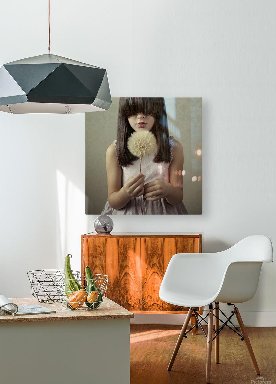 Secret Wishes  HD Metal print with Floating Frame on Back