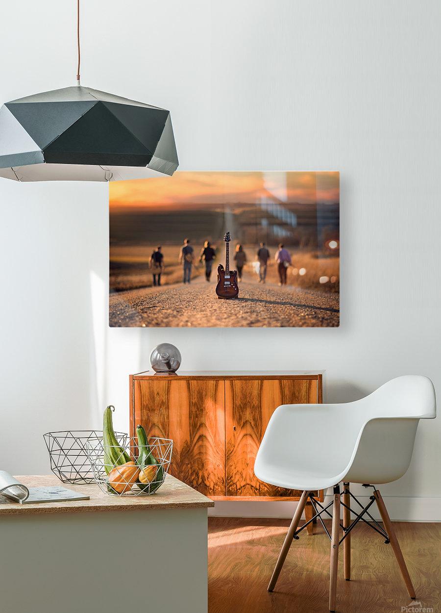 Velvet Crush  HD Metal print with Floating Frame on Back