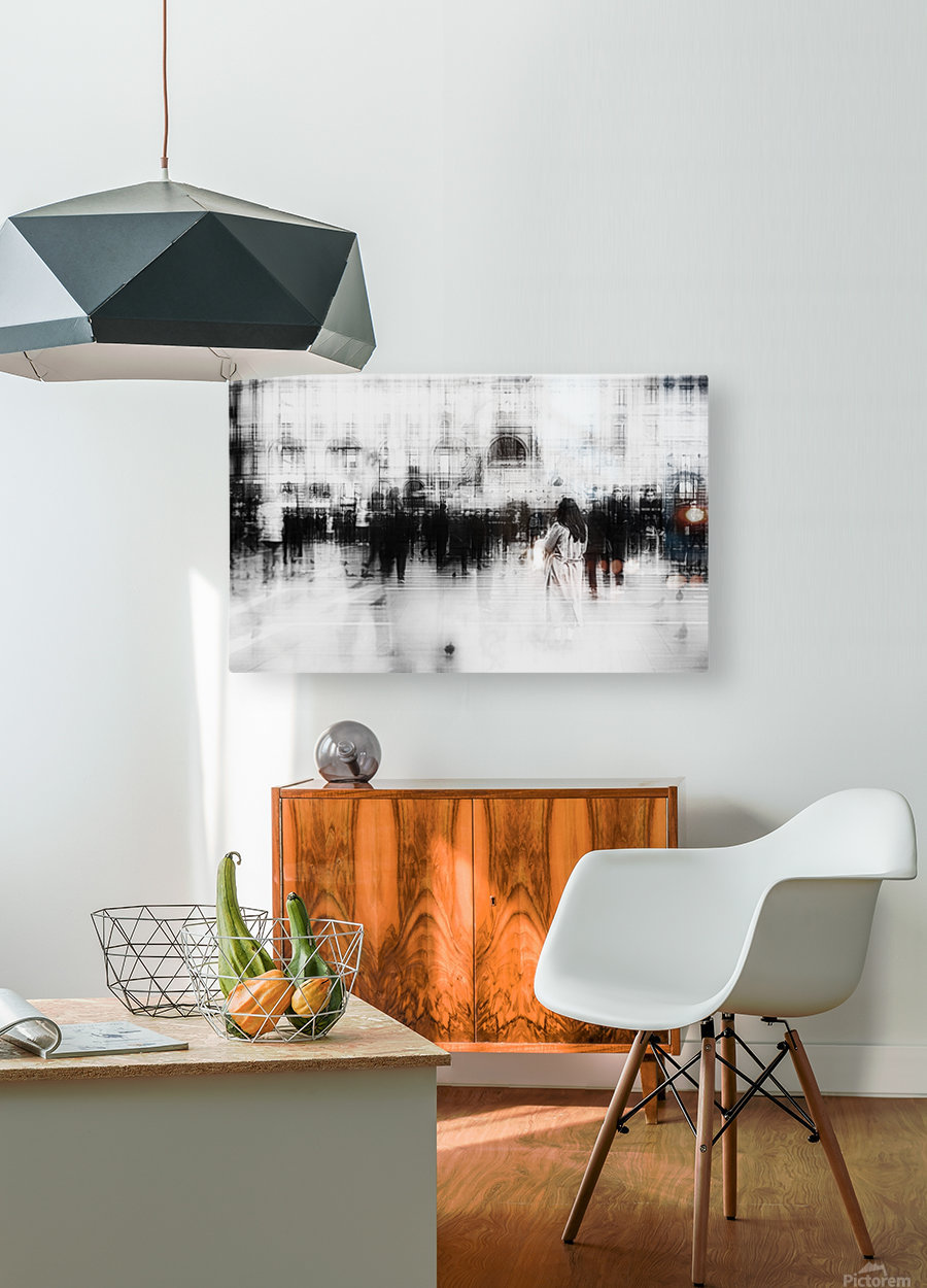 Lost among ghosts  HD Metal print with Floating Frame on Back