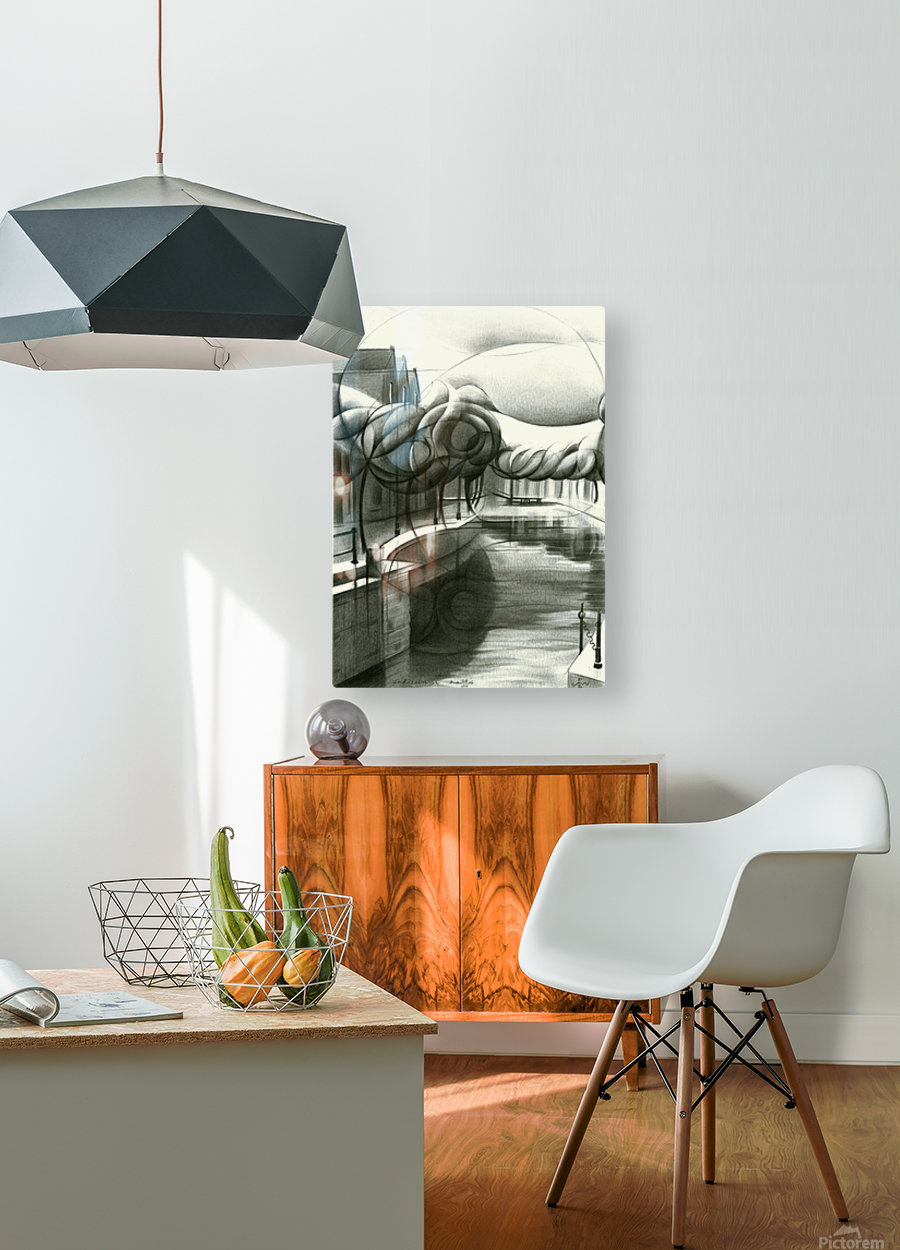 Schiedam 26-08-16  HD Metal print with Floating Frame on Back