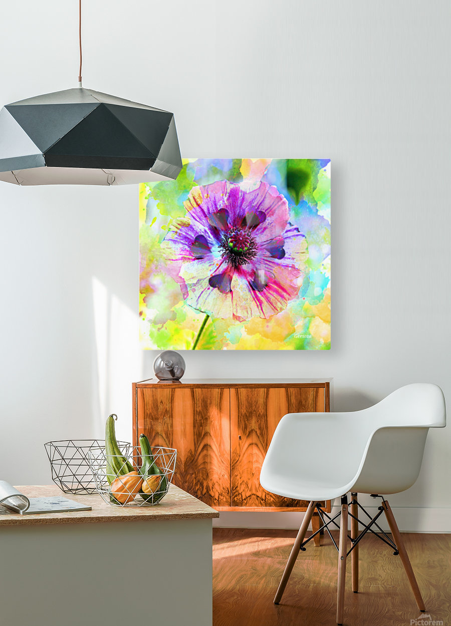 Art216  HD Metal print with Floating Frame on Back
