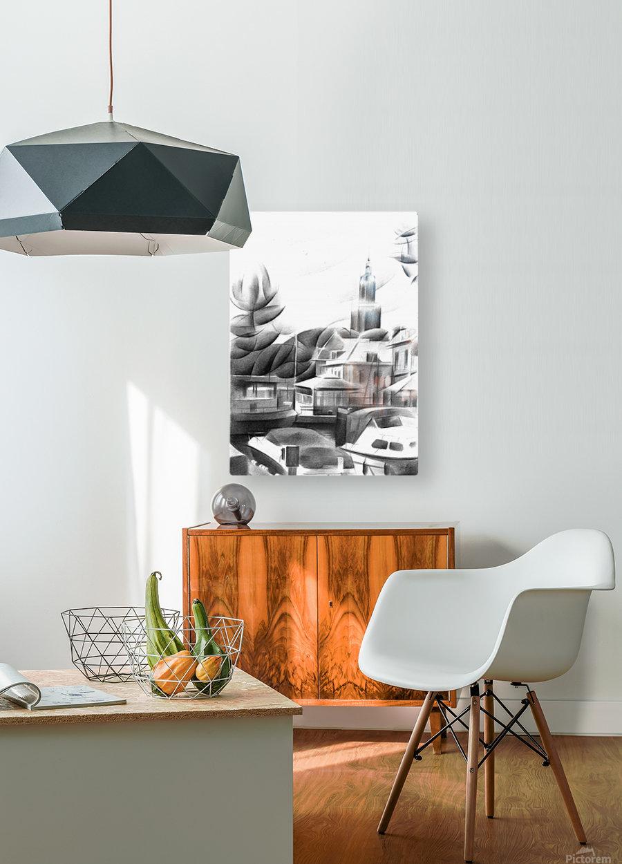 Vlaardingen - 14-09-16  HD Metal print with Floating Frame on Back