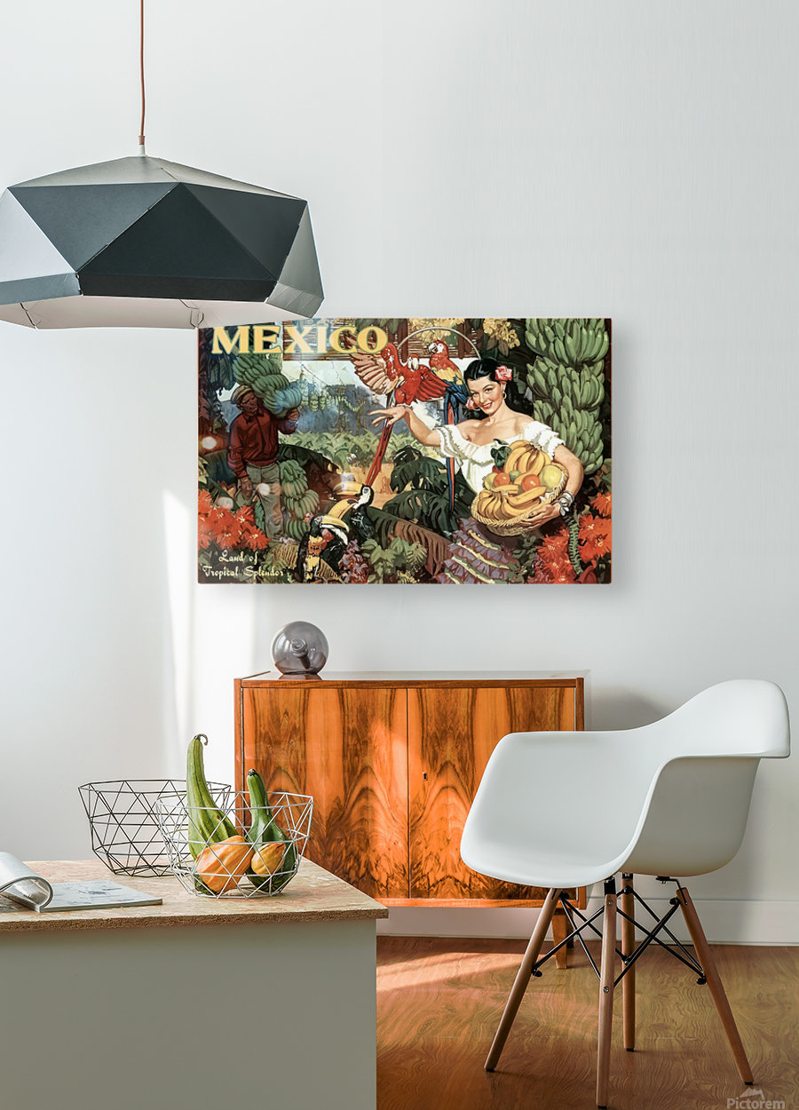 Mexico Land of Tropical Splendor  HD Metal print with Floating Frame on Back