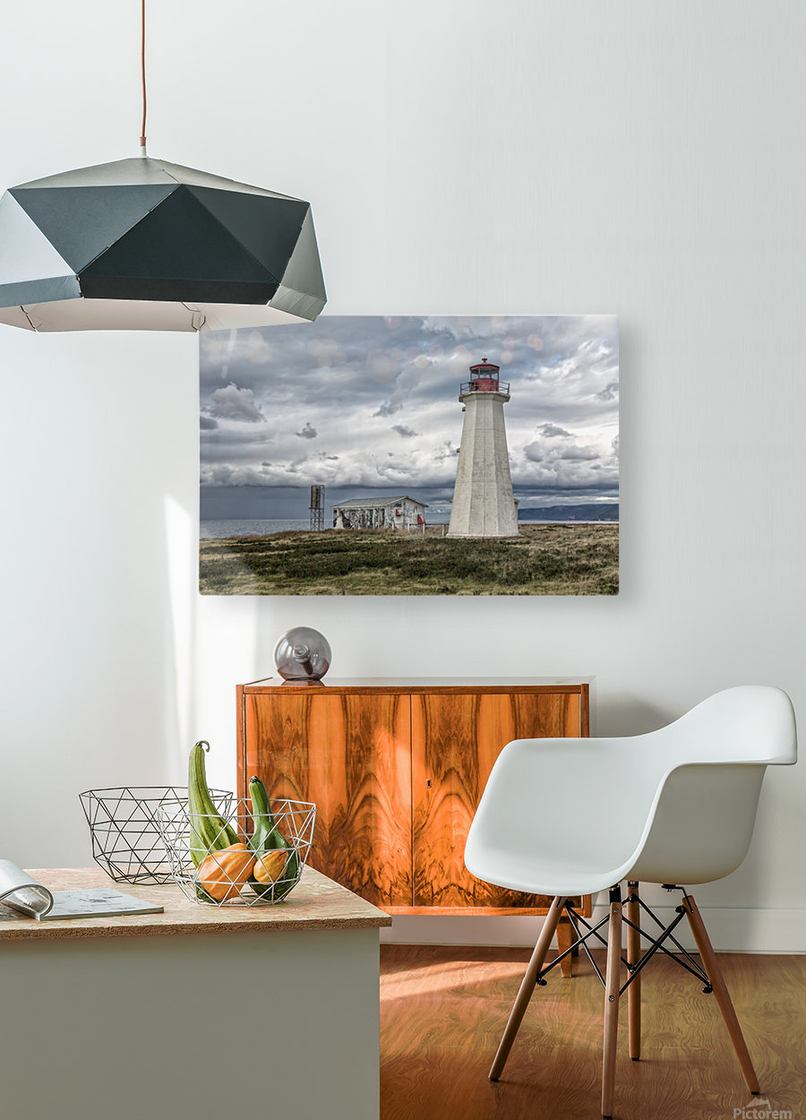 Lighting The Way  HD Metal print with Floating Frame on Back