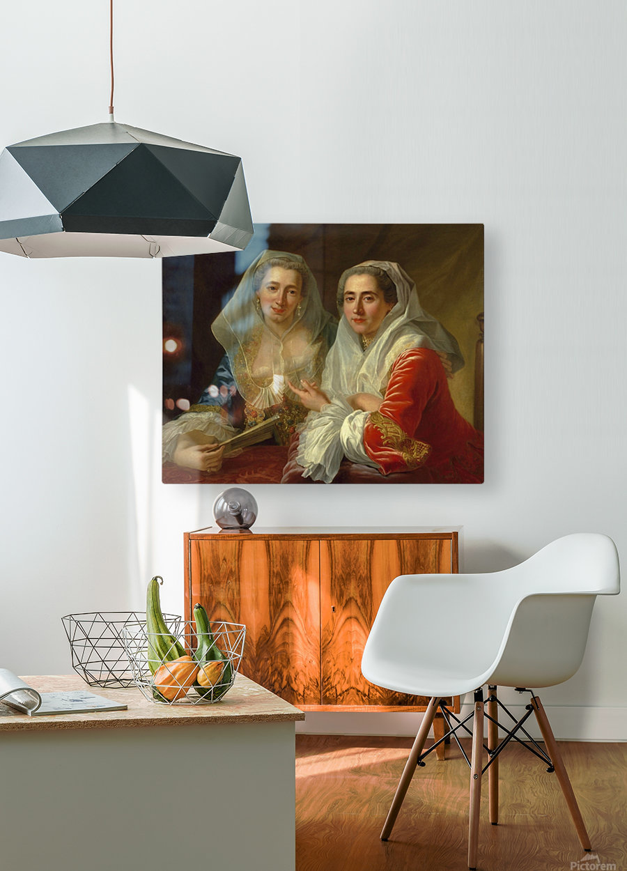 The Mirabita Sisters  HD Metal print with Floating Frame on Back