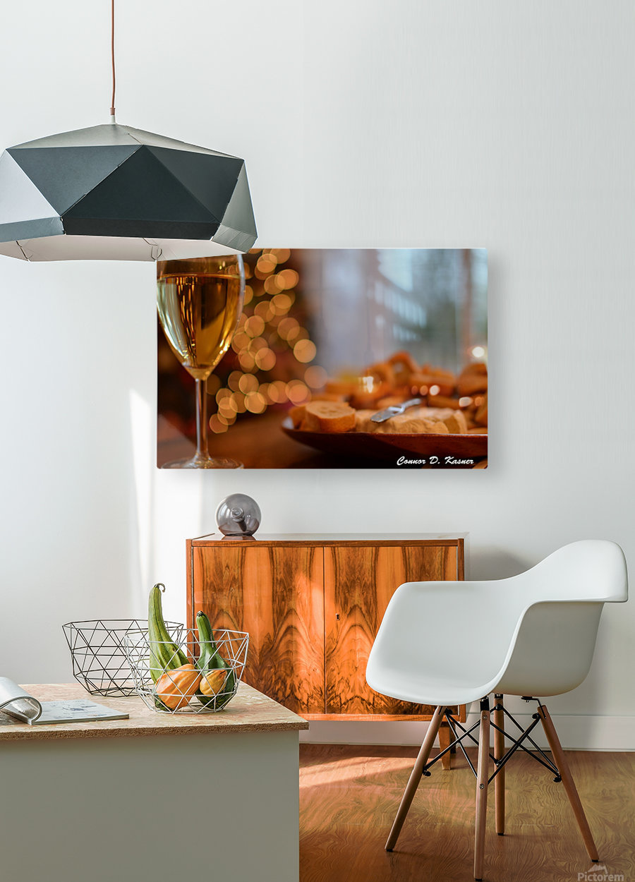 Connor Kasner  HD Metal print with Floating Frame on Back