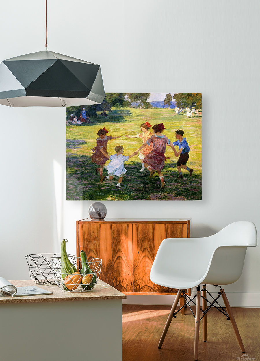 Ring Around the Rosie  HD Metal print with Floating Frame on Back
