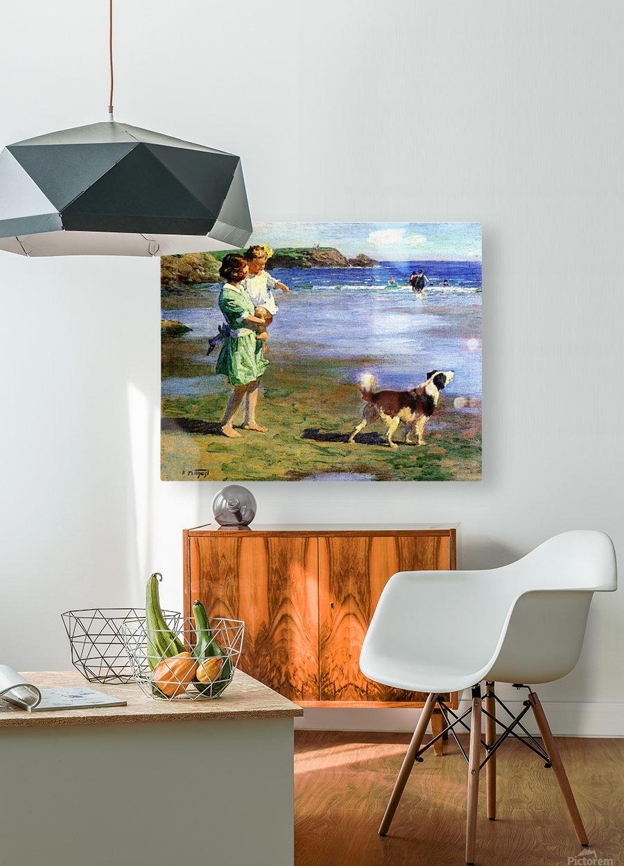 Summer Pleasures  HD Metal print with Floating Frame on Back