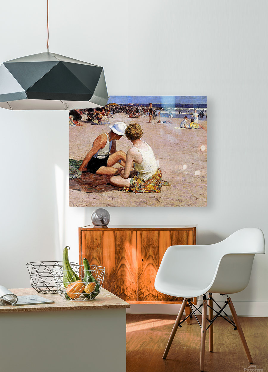 Summer Vacation  HD Metal print with Floating Frame on Back