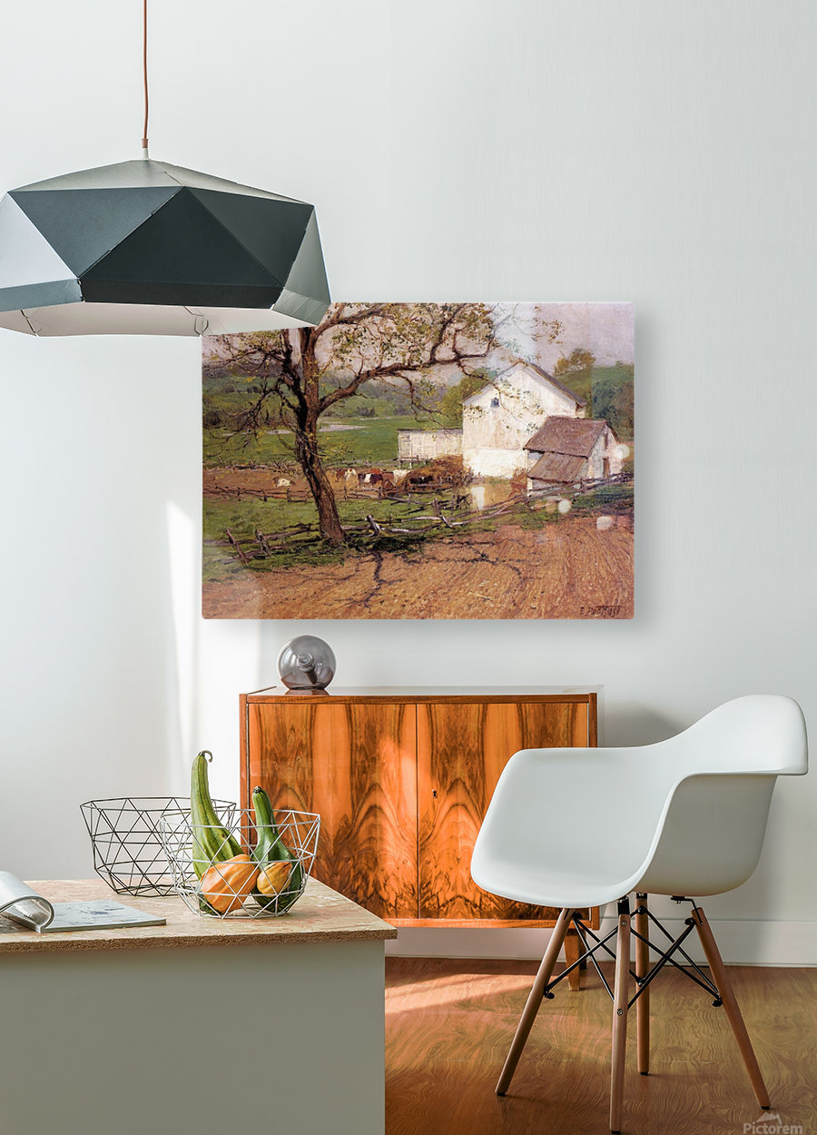 Summer Day  HD Metal print with Floating Frame on Back