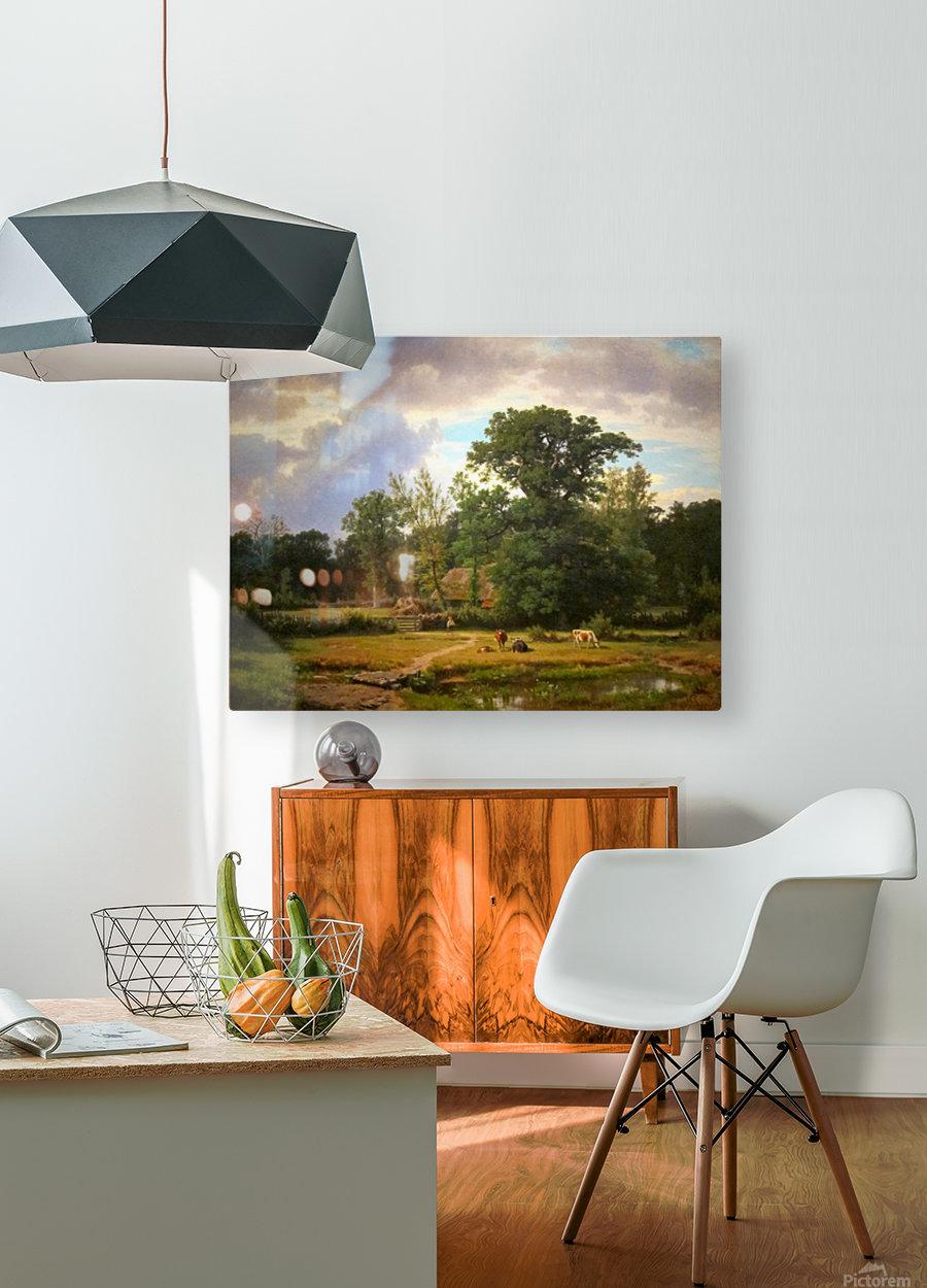 Paesaggio della Westfalia  HD Metal print with Floating Frame on Back
