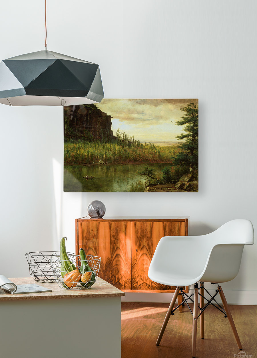 Landscape near Fort Collins  HD Metal print with Floating Frame on Back