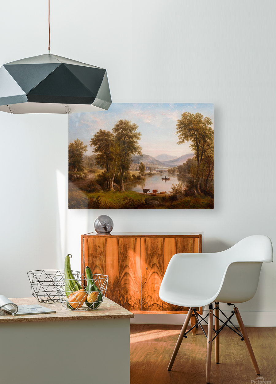 Woods of Ashokan  HD Metal print with Floating Frame on Back