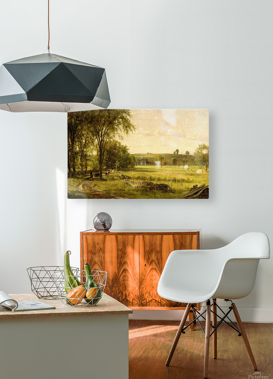 Near Gray Court Junction  HD Metal print with Floating Frame on Back