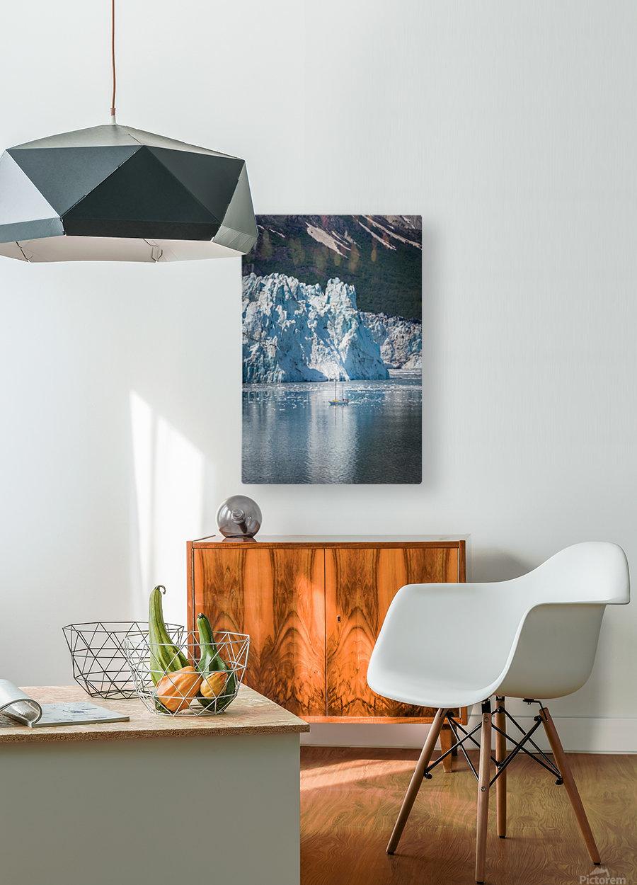 Alaska  HD Metal print with Floating Frame on Back