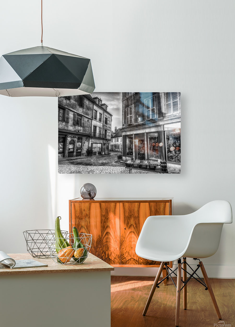 Old world  HD Metal print with Floating Frame on Back