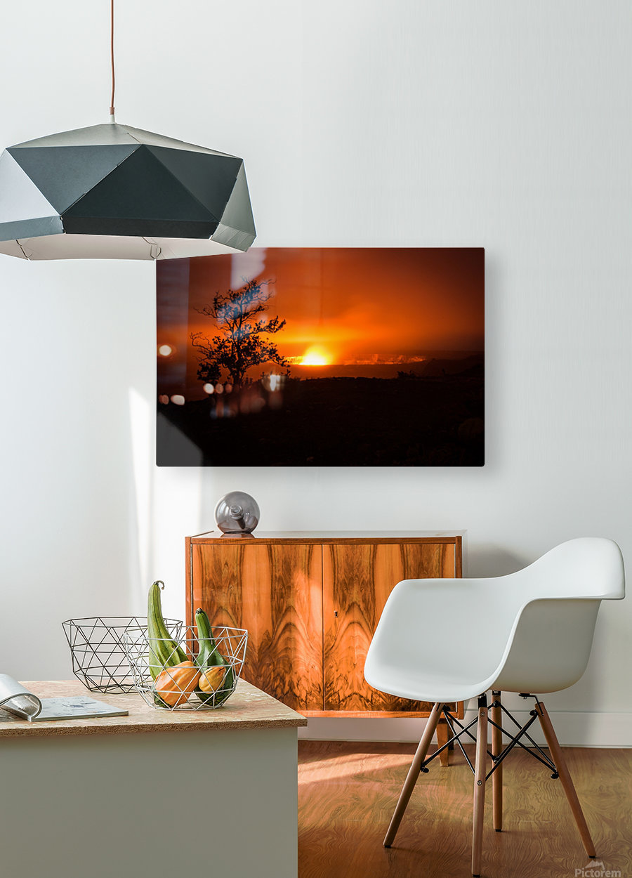 Gate of Hell  HD Metal print with Floating Frame on Back