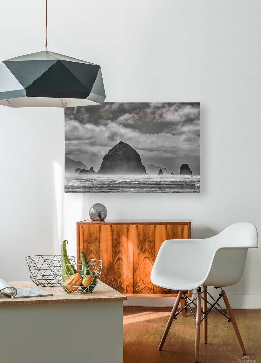Cannon Beach  HD Metal print with Floating Frame on Back