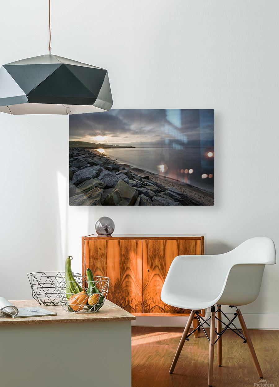 Sun Break  HD Metal print with Floating Frame on Back