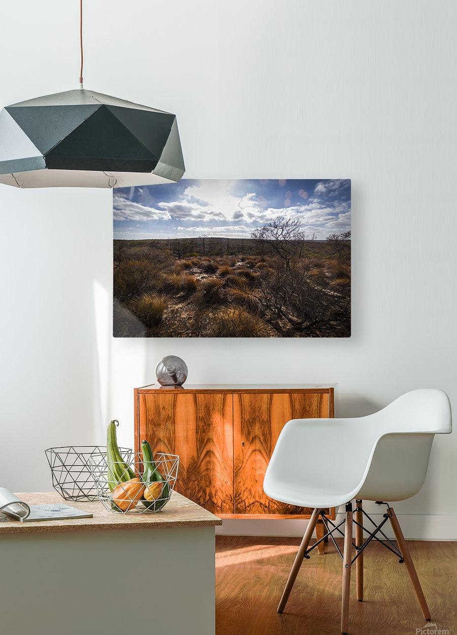 Kalbarri Canyon  Impression métal HD avec cadre flottant sur le dos