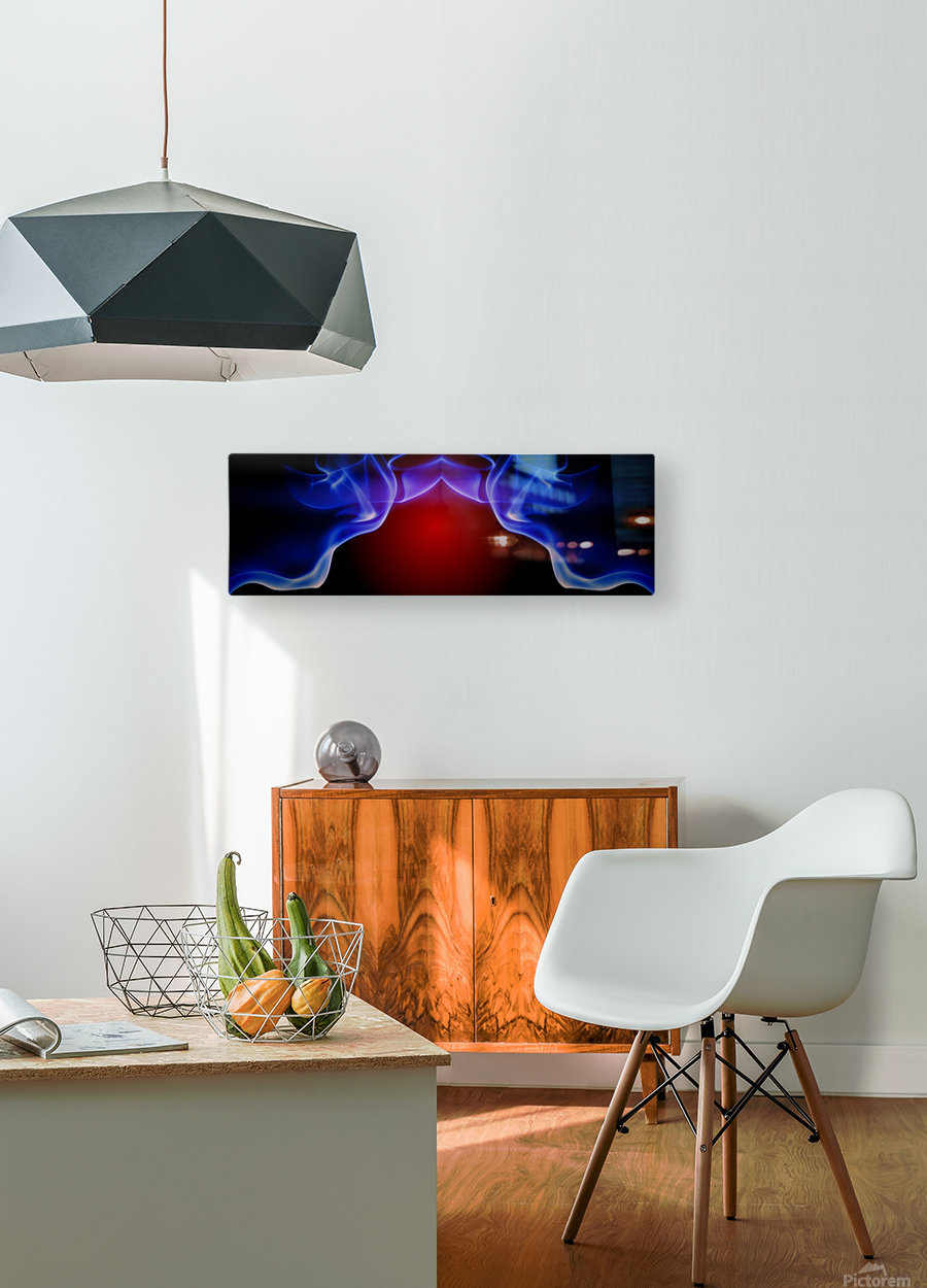 SPS-0006  HD Metal print with Floating Frame on Back