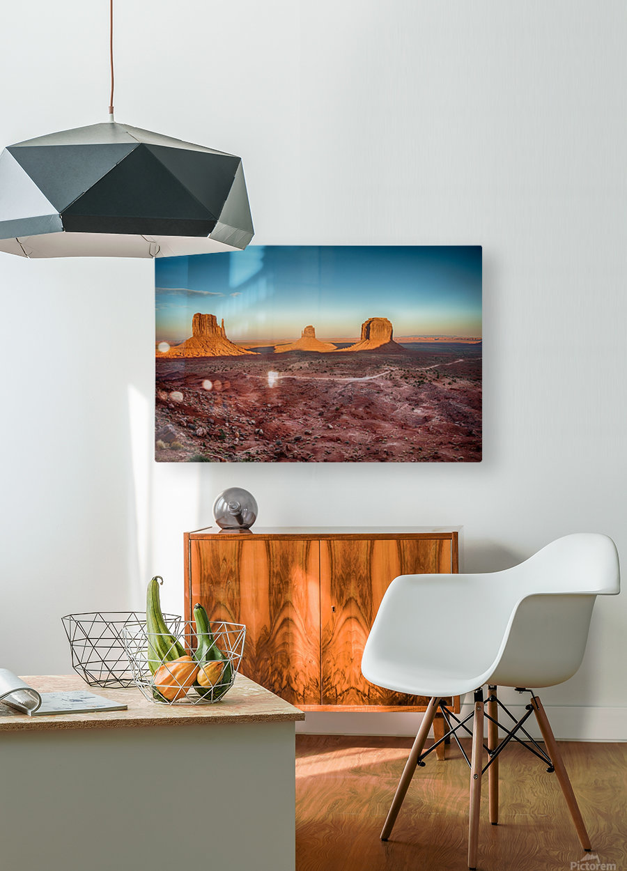 Monument Valley HDR (16 of 21)  HD Metal print with Floating Frame on Back