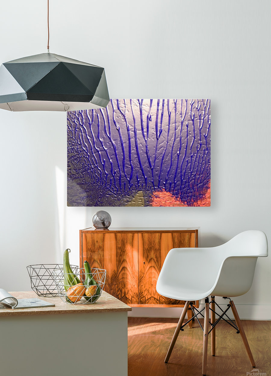 art  HD Metal print with Floating Frame on Back