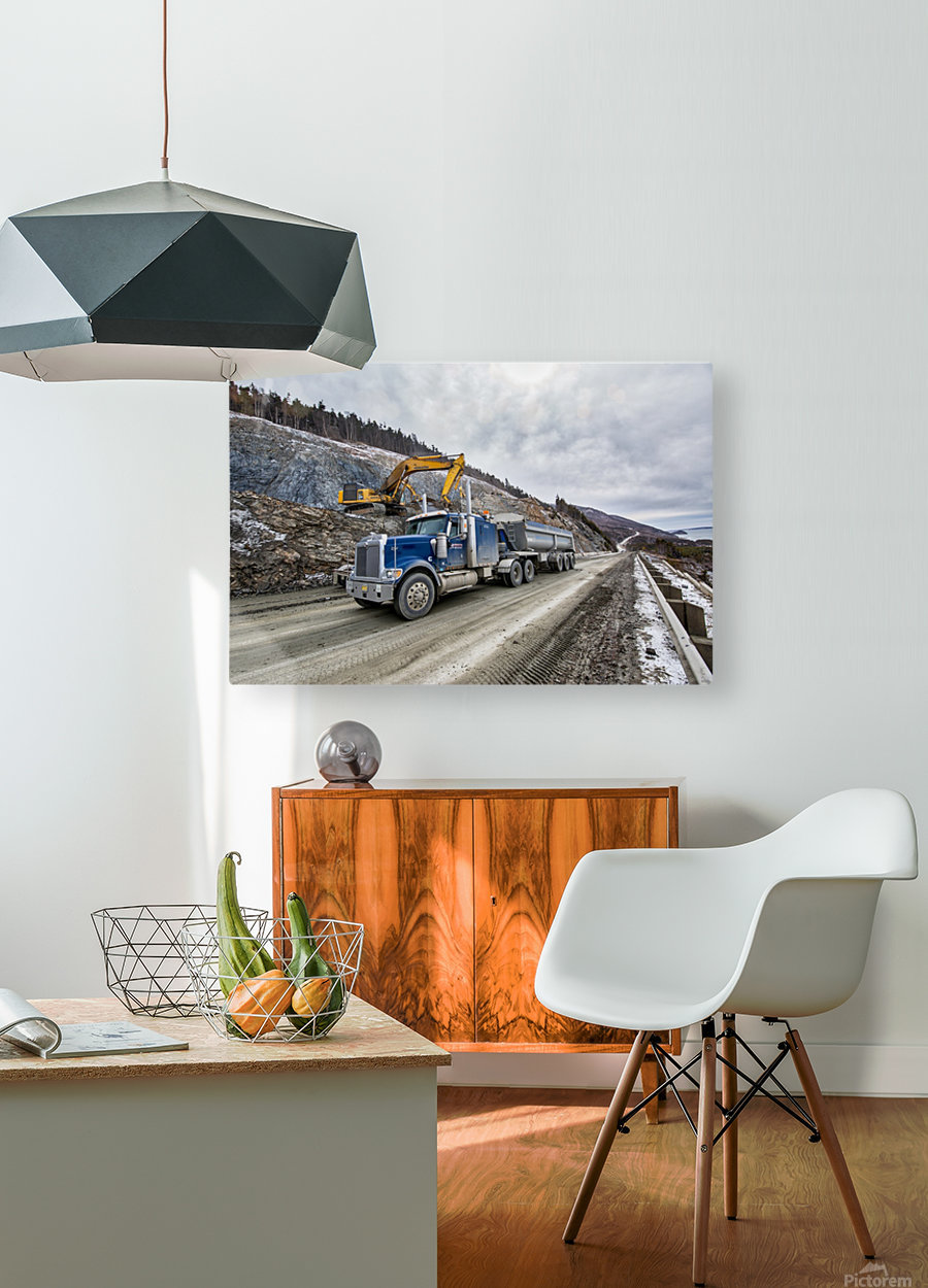3544_H  HD Metal print with Floating Frame on Back