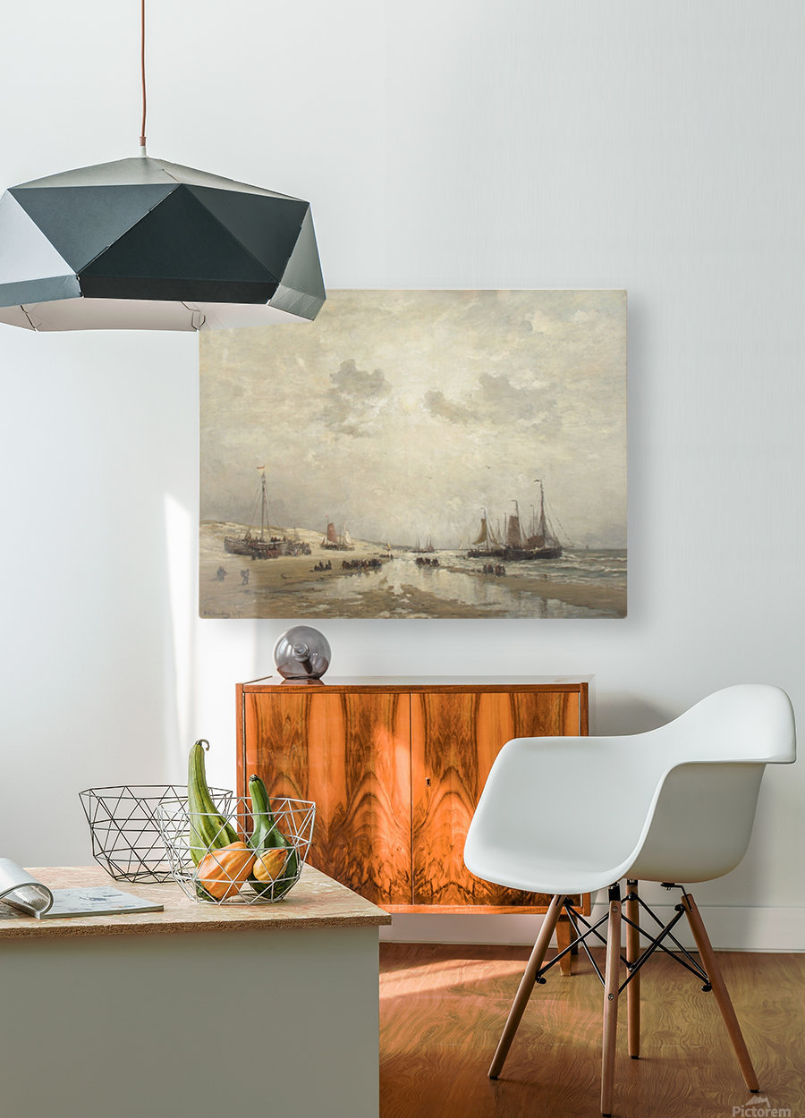 Manana en Scheveningen  HD Metal print with Floating Frame on Back