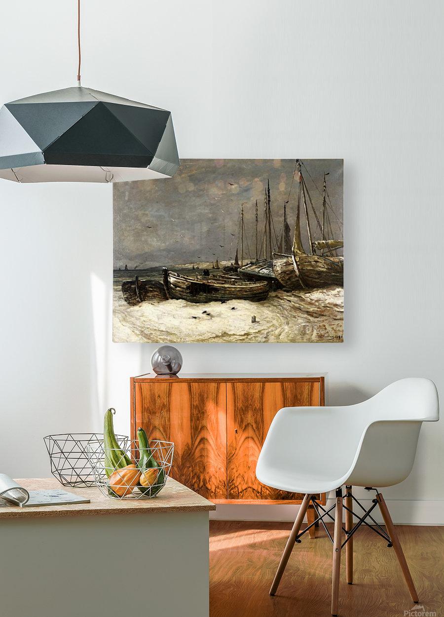 Scheveningen toen en  HD Metal print with Floating Frame on Back