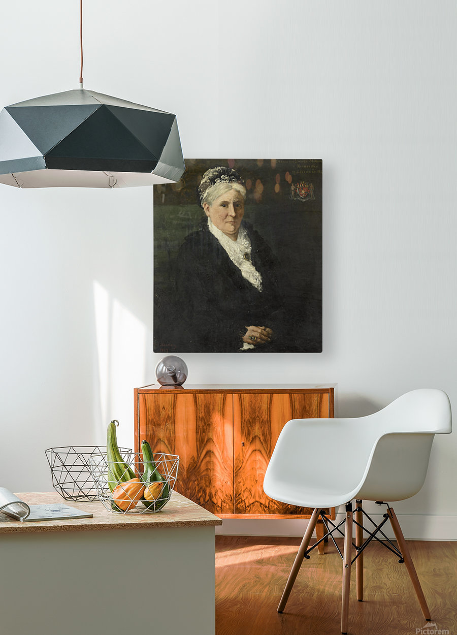 Maria Hermina Heemskerk  HD Metal print with Floating Frame on Back
